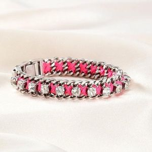 Stella & Dot - Hot Pink Neon Dream Bracelet